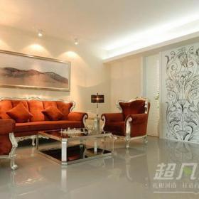 新古典風格客廳沙發背景墻裝修效果圖新古典風格茶幾圖片