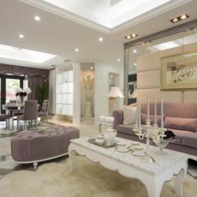 歐式客廳客廳背景墻沙發背景墻效果圖