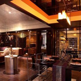 餐厅客厅一体装修效果图