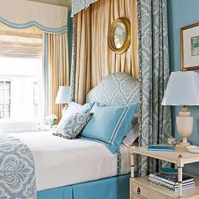 客廳背景墻頭柜歐式三居大戶型臥室象牙白氣質床頭柜圖片效果圖
