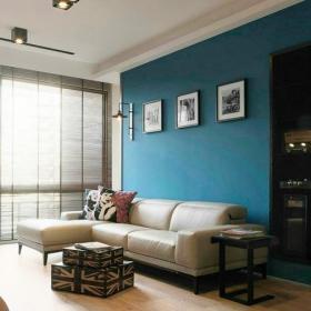 100平米混搭风格104平米混搭客厅沙发背景墙装修效果图