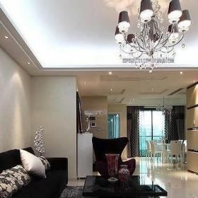 140平简约客厅窗户设计效果图