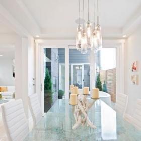 簡約風格混搭風格客廳富裕型140平米以上紅木餐桌效果圖