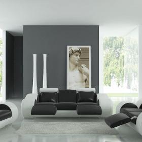 創意客廳沙發家具設計效果圖