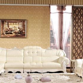 欧式风格客厅沙发布艺沙发组合欧式沙发构造图效果图