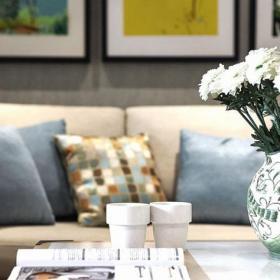 美式風格120平米大氣美式客廳裝修效果圖片