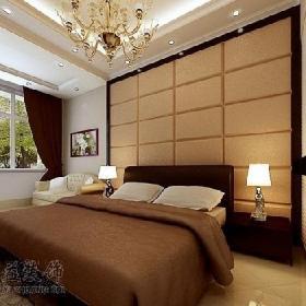 吊顶背景墙卧室吊顶欧式风格三居室客厅装修效果图