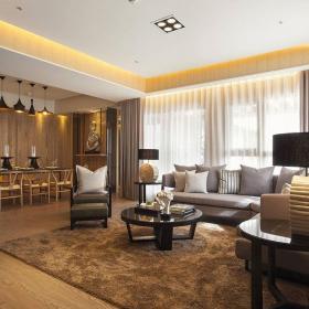 简约风格大客厅装潢图片欣赏效果图