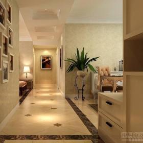 欧式欧式风格客厅走廊设计图效果图