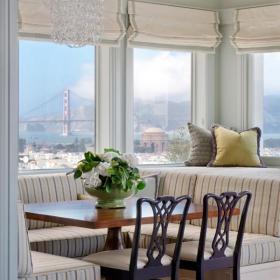 客厅阳台改造休闲一角装饰效果图