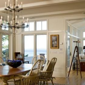 欧式风格300平别墅大气欧式简约客厅效果图