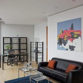 復式樓照片墻簡約風格復式客廳設計效果圖大全