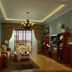 美式美式風格客廳設計圖效果圖