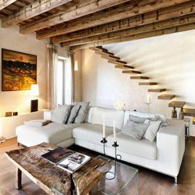 ?#30340;?#23478;具茶几沙发客厅乡村三居单身公寓跃层在斑驳的居室中寻找舒适的生活效果图大全