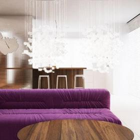 简约风格实用客厅客厅隔断设计效果图