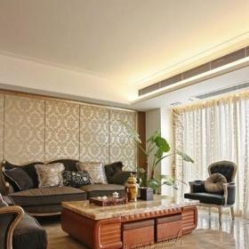 客廳瓷磚裝修效果圖