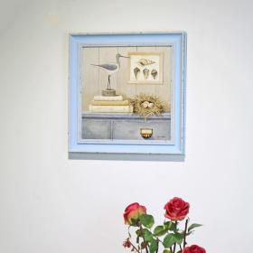 客厅背景墙装饰画效果图