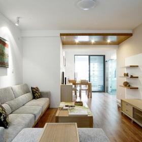 简约客厅沙发装饰图效果图