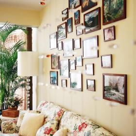 客厅客厅背景墙韩式风格沙发背景墙设计效果图大全
