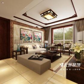 中式风格客厅吊顶装修效果图中式风格中式家具图片