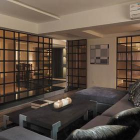 简约沙发茶几客厅背景墙客厅实拍图效果图大全
