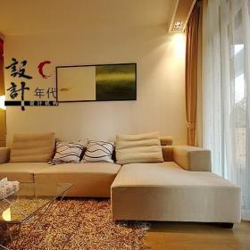 客廳轉角沙發創意家具設計圖效果圖