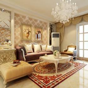 陽臺門歐式裝飾柜單人沙發家具茶幾90㎡簡約歐式風格客廳沙發背景墻裝修效果圖簡約歐式風格腳凳圖片