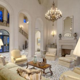 茶幾沙發歐式別墅復式樓客廳城堡里的小小世界效果圖大全