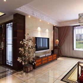 中式客廳客廳背景墻背景墻效果圖