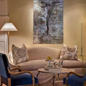 最新客厅沙发无框画图集效果图