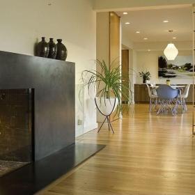 客厅活动隔断装修设计效果图欣赏
