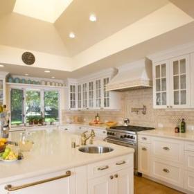 混搭风格客厅三层别墅及实用卧室4平方厨房设计图效果图