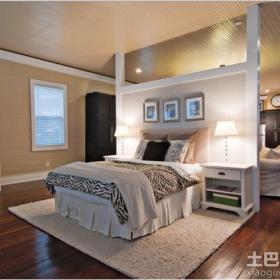 客厅与卧室隔断造型效果图