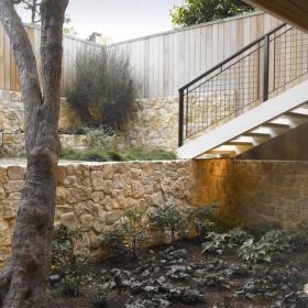 混搭风格一层别墅及大方简洁客厅室内花园改造效果图