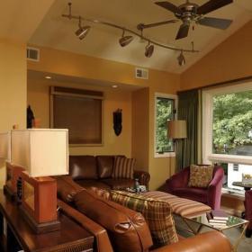 中式风格别墅300平别墅温馨客厅2013简欧客厅设计效果图