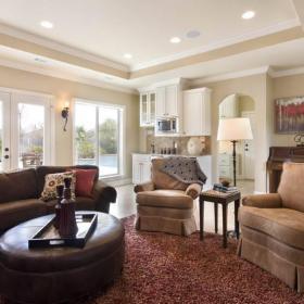 美式美式風格客廳裝修圖效果圖