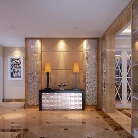 歐式客廳歐式風格四居室客廳黑色鞋柜裝修效果圖