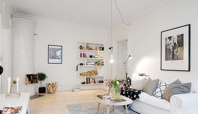 北欧风格自然质感北欧客厅地毯效果图