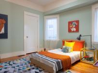 宜家风格客厅三层双拼别墅可爱卧室小卧室的装修图片