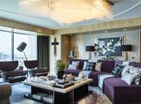 台灯装?#20301;?#20241;闲椅沙发背景墙家具沙发现代茶几沙发背景墙时尚个性客厅装修图片效果图欣赏