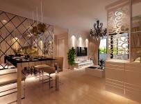 客隔断雕花隔断客厅隔断现代简约风格餐厅背景墙装修效果图现代简约风格吊顶图片