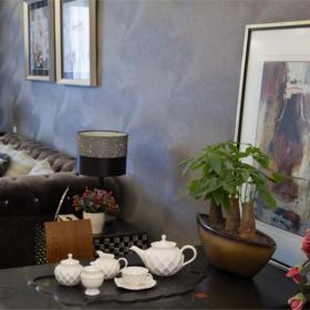 背景墻混搭裝飾畫家具沙發大戶型客廳背景墻混搭時尚別致的客廳設計效果圖大全