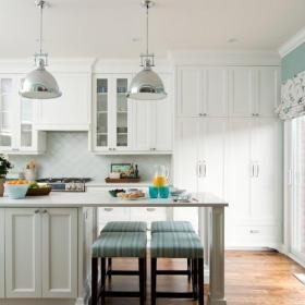 现代简约风格客厅3层别墅实用客厅3平方厨房装修?#35745;?#25928;果图