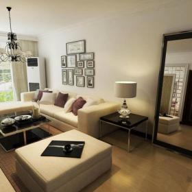 現代簡約風格樓房客廳吊頂裝修效果圖現代簡約風格電視柜圖片