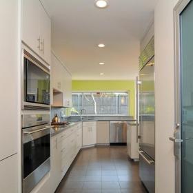 現代簡約風格廚房三層別墅大方簡潔客廳2平米廚房裝潢效果圖