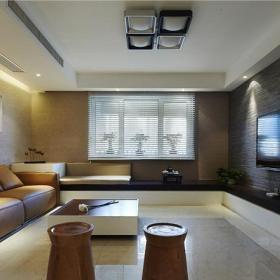 时尚现代都市大客厅装修案例效果图