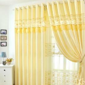 最新简约客厅窗帘效果图片效果图