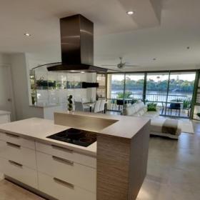 现代简约风格卫生间单身公寓设计图现代奢华开放式厨房客厅设计图纸效果图