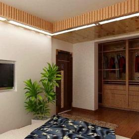 日式简约客厅日式风格装修图片效果图