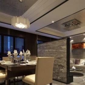 客厅隔断实用现代时尚客厅餐厅隔断墙设计效果图